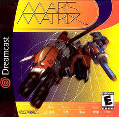 Mars Matrix Box Art