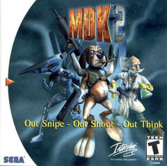 MDK 2 Box Art