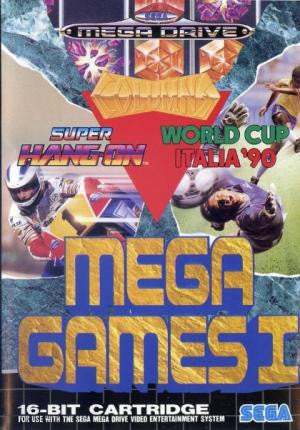 Mega Games 1 Box Art