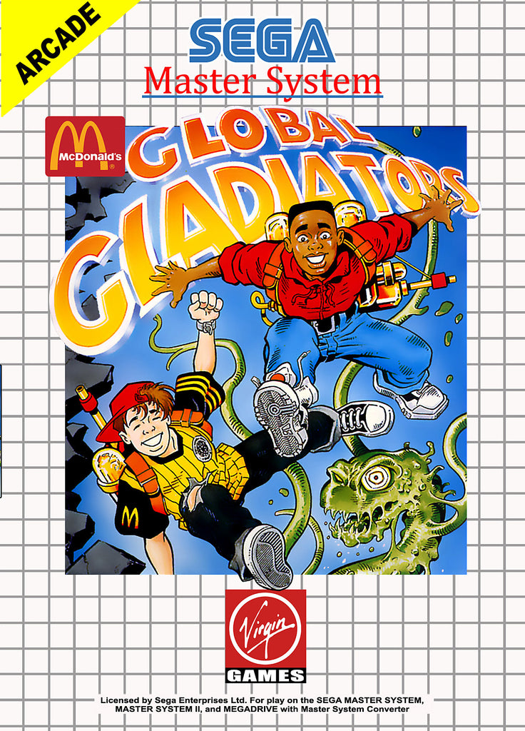 Mick & Mack: Global Gladiators Box Art