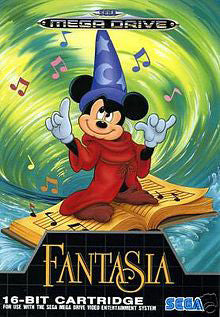 Mickey Mouse - Fantasia Box Art