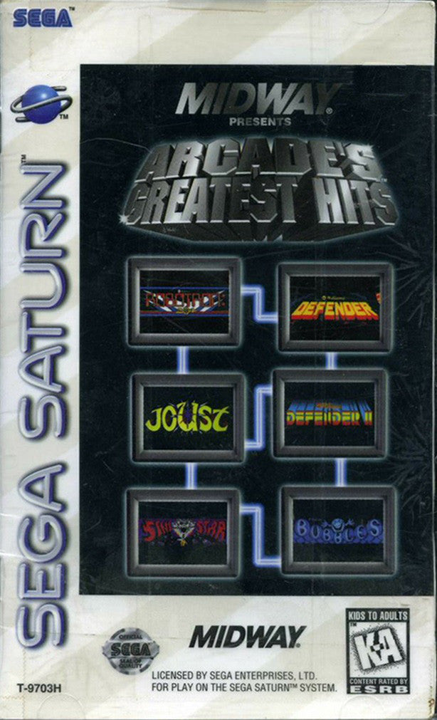 Midway Presents Arcade's Greatest Hits Box Art