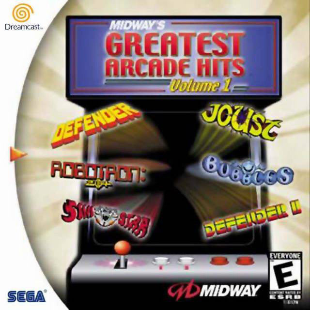Midway's Greatest Arcade Hits Volume 1 Box Art
