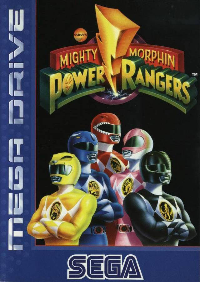Mighty Morphin Power Rangers Box Art