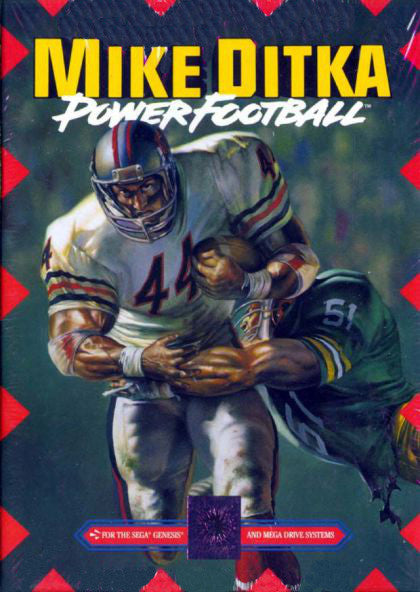 Mike Ditka Power Football Box Art