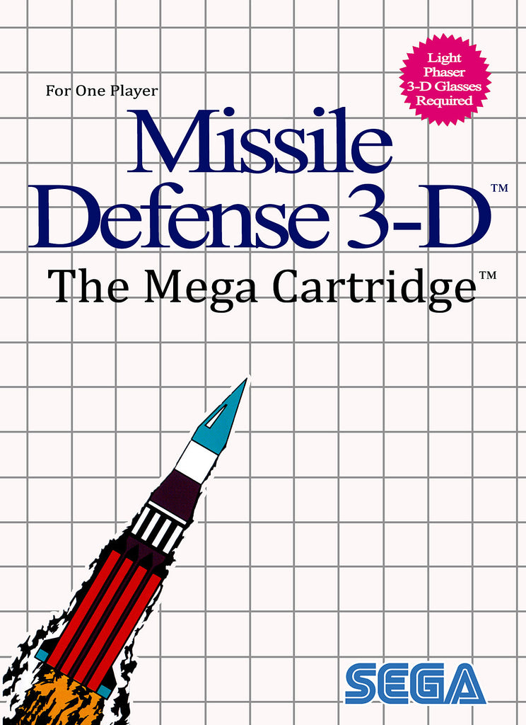 Missile Defense 3-D Box Art