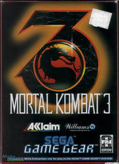 Mortal Kombat 3 Box Art
