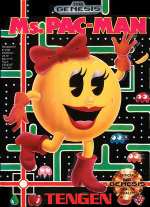 Ms. Pacman Box Art