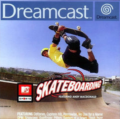 MTV Sports Skateboarding Box Art