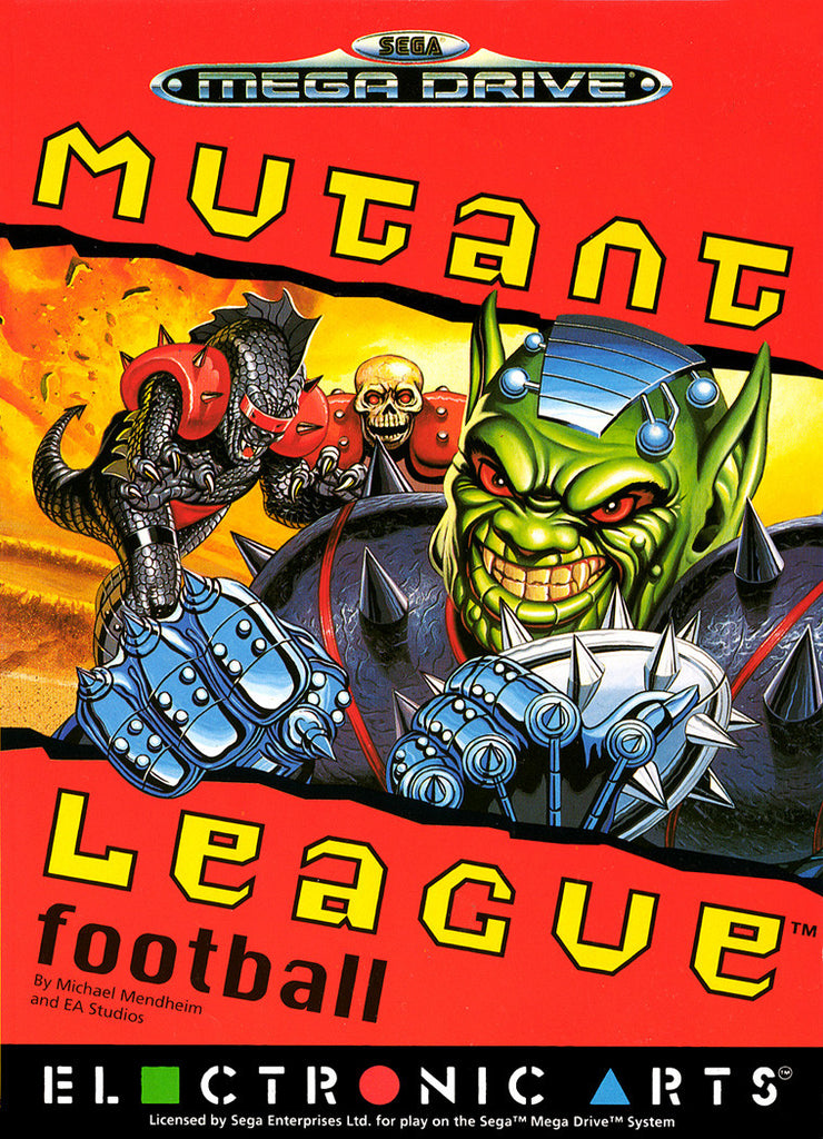 Mutant League Football Box Art