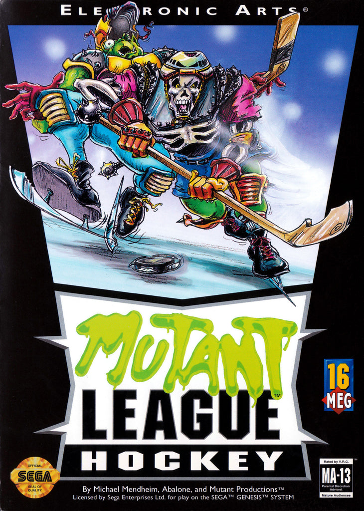 Mutant League Hockey Box Art