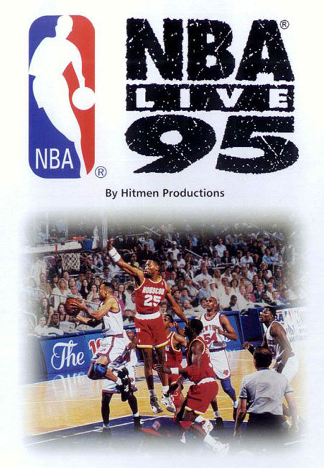 NBA Live 95 Box Art