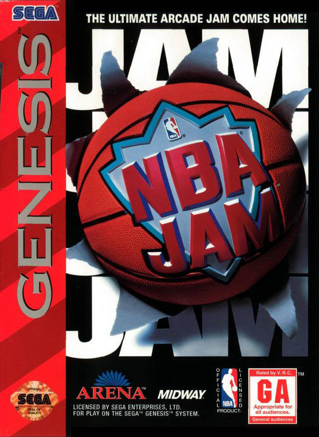 NBAJam Box Art
