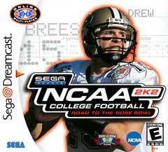 NCAA College Football 2K2 Box Art