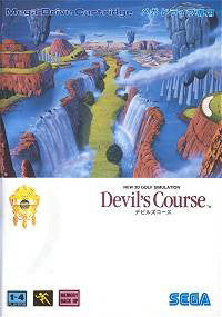 New 3D Golf Simulation: Devil's Course Box Art