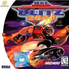 NFL Blitz 2000 Box Art