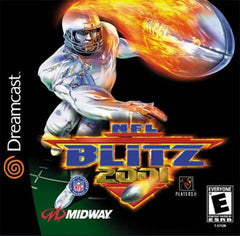 NFL Blitz 2001 Box Art