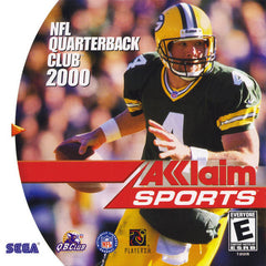 NFL Quarterback Club 2000 Box Art