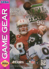 NFL Quarterback Club '96 Box Art