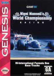 Nigel Mansell's World Championship Racing Box Art