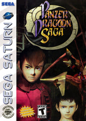 Panzer Dragoon Saga Box Art