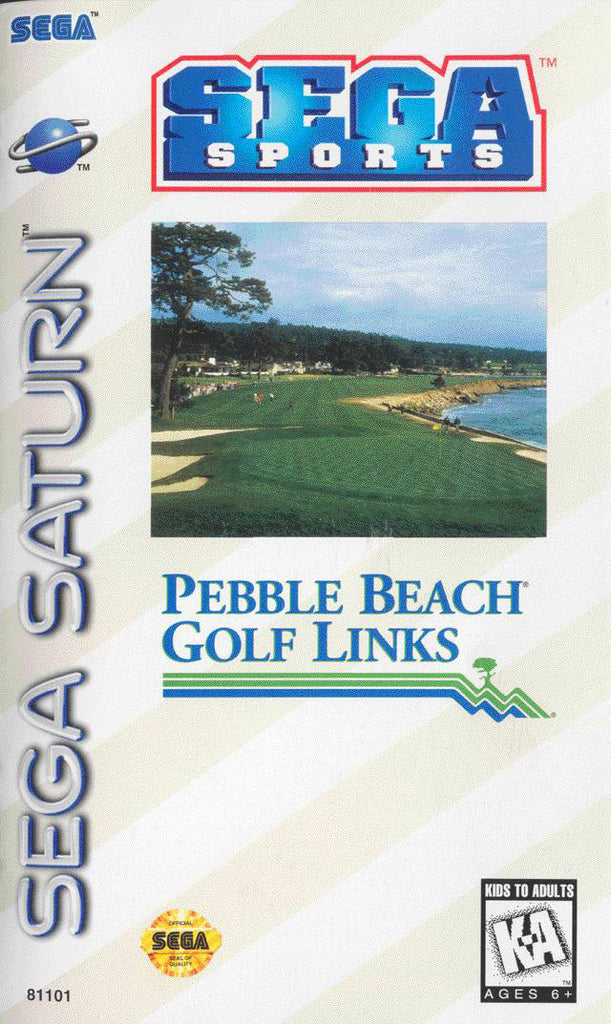 Pebble Beach Golf Links Box Art