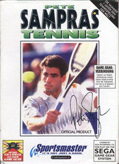 Pete Sampras Tennis Box Art