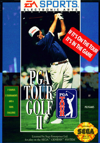 PGA Tour Golf II Box Art