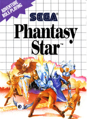 Phantasy Star Box Art