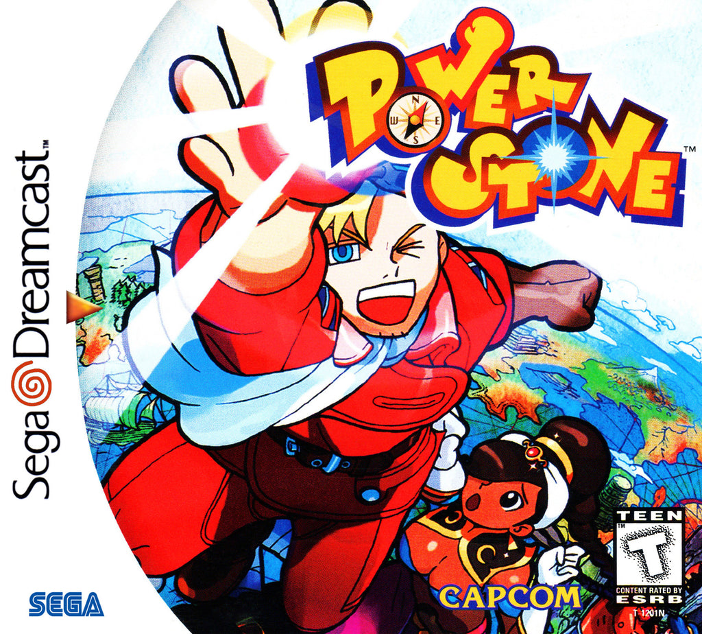 Power Stone Box Art