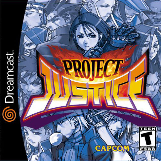 Project Justice Box Art