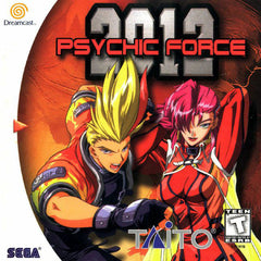 Psychic Force 2012 Box Art
