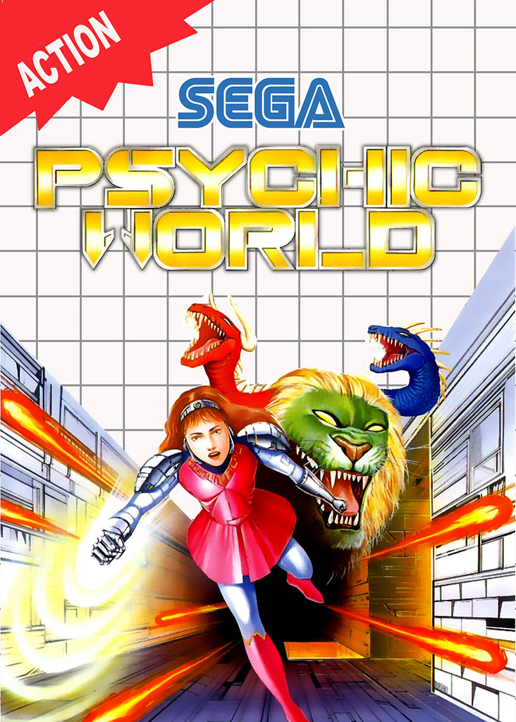 Psychic World Box Art