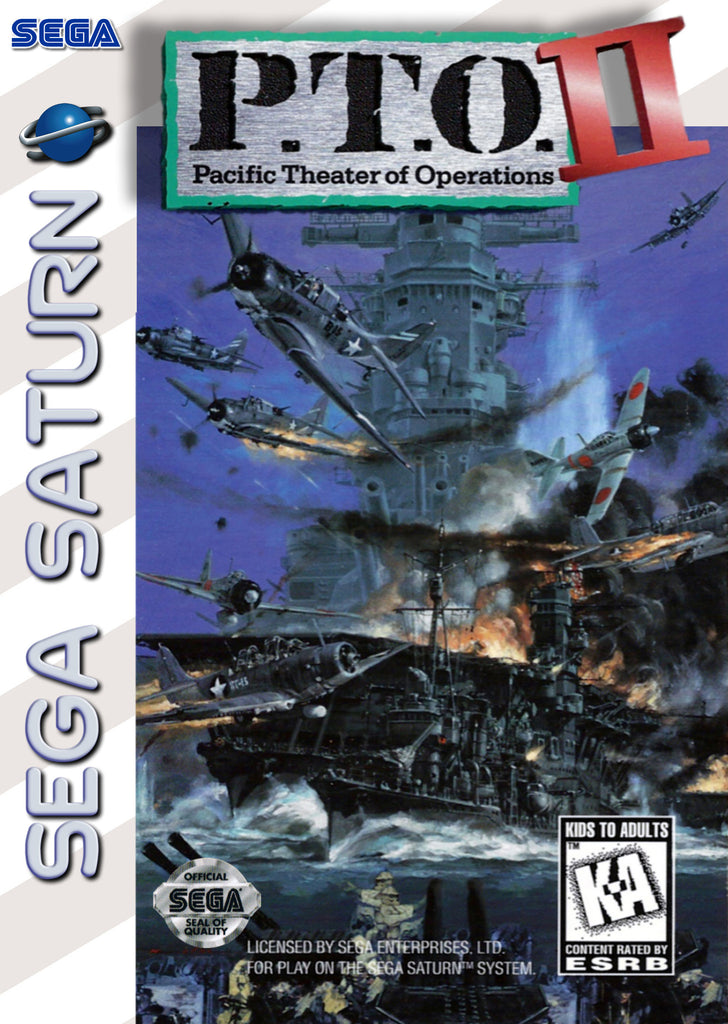 P.T.O. II: Pacific Theater of Operations Box Art