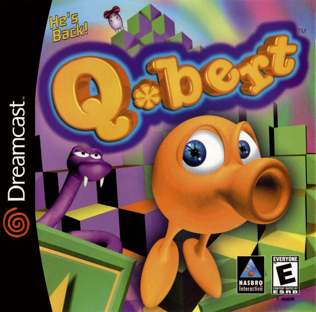 Q*bert Box Art