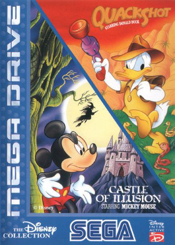 Quackshot / Castle Of Illusion (Disney Collection) Box Art