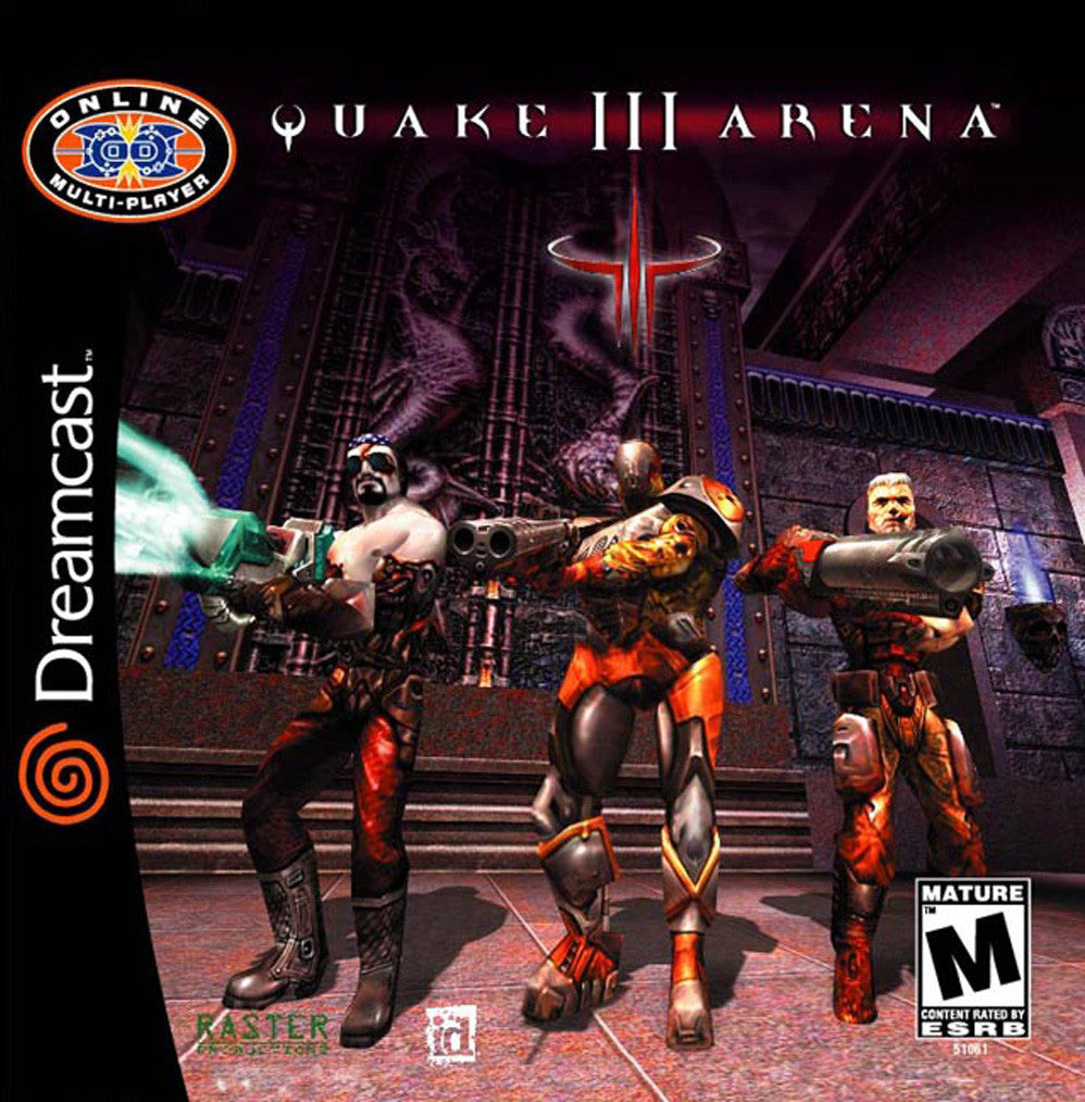 Quake III Arena Box Art