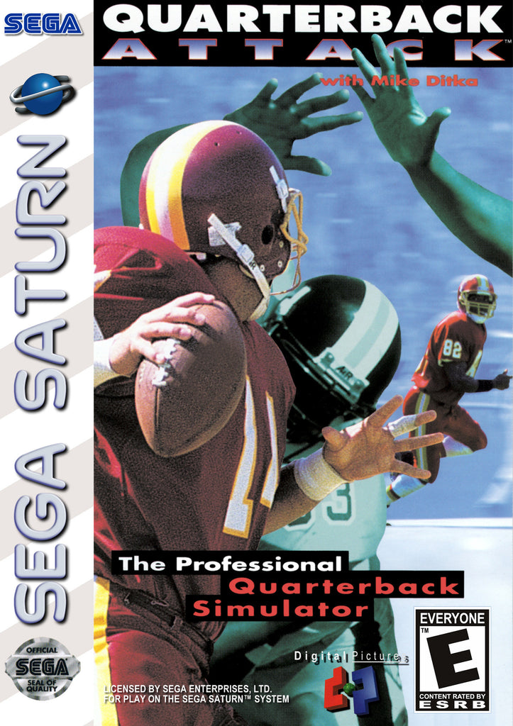 Quarterback Attack with Mike Ditka Box Art