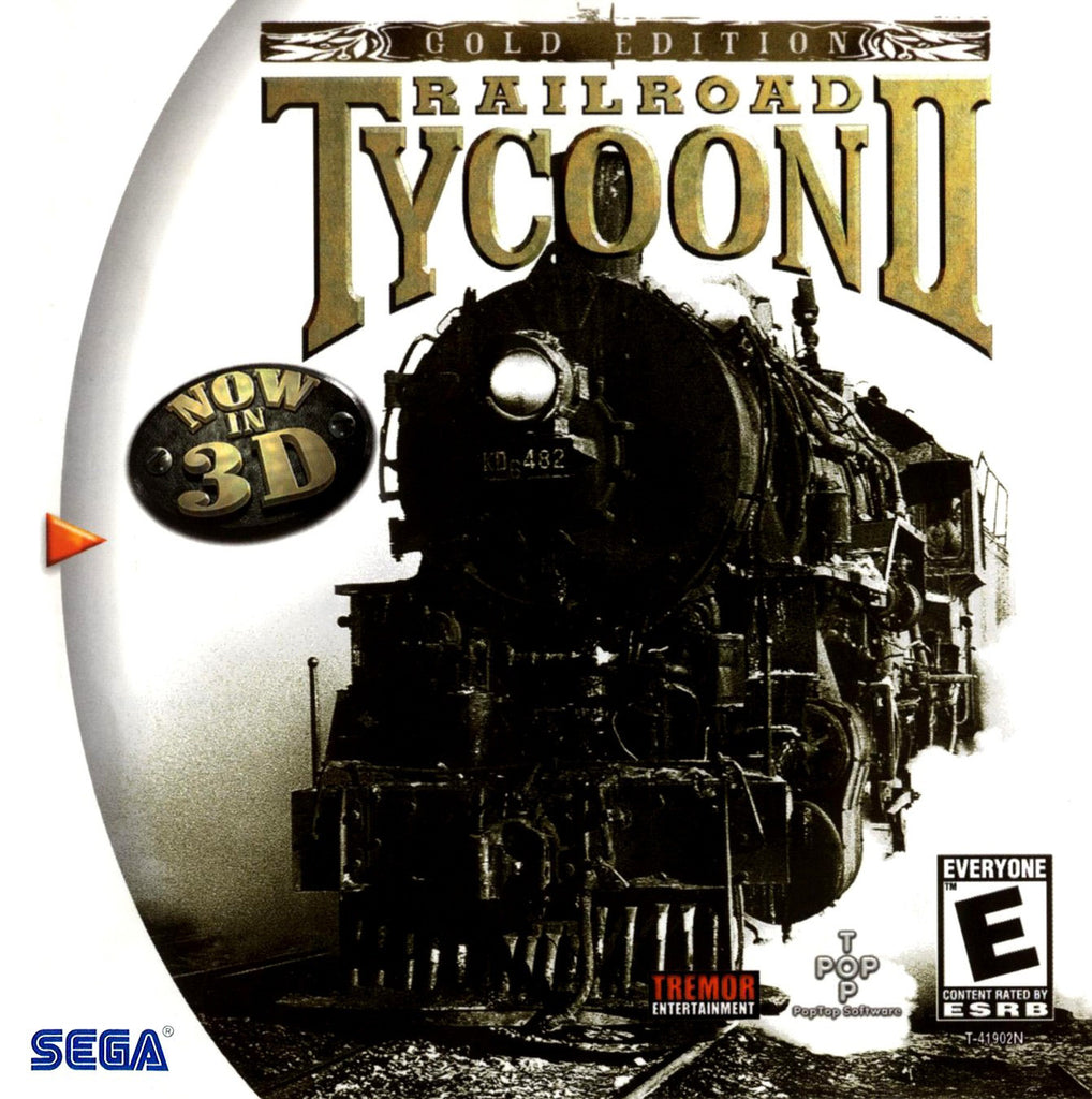 Railroad Tycoon II: Gold Edition Box Art
