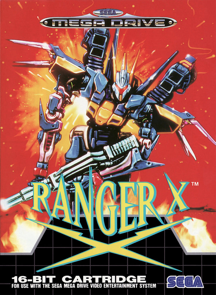 Ranger X Box Art