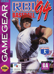 R.B.I. Baseball '94 Box Art