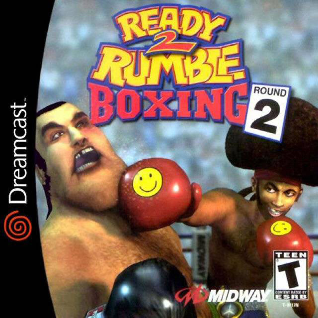Ready 2 Rumble Boxing: Round 2 Box Art