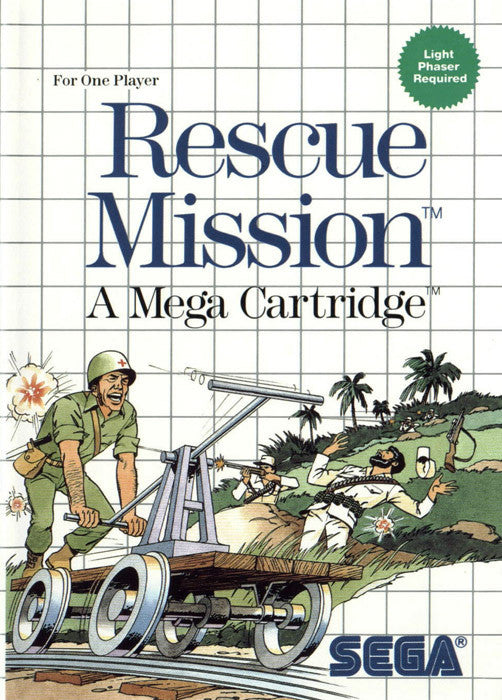 Rescue Mission Box Art