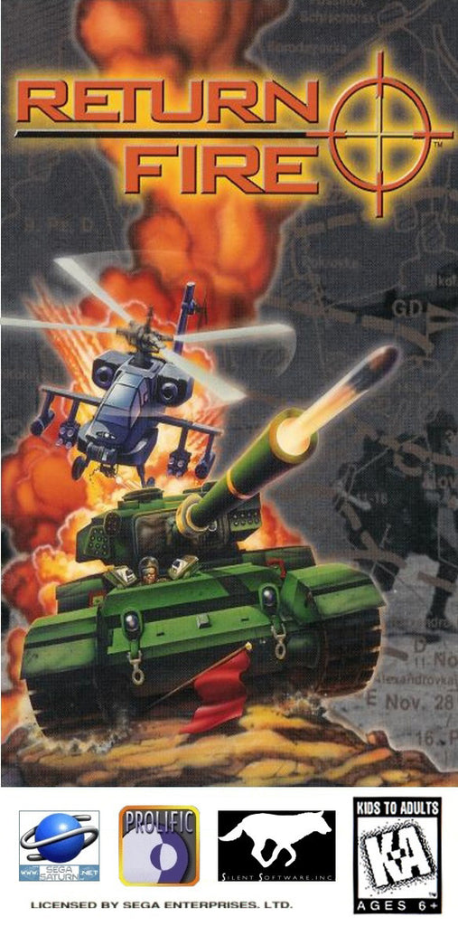 Return Fire Box Art