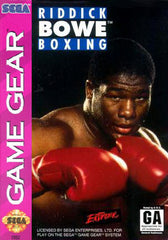 Riddick Bowe Boxing Box Art