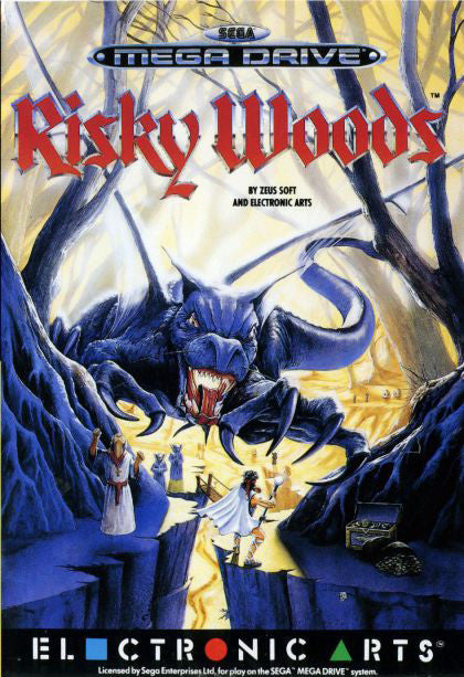 Risky Woods Box Art