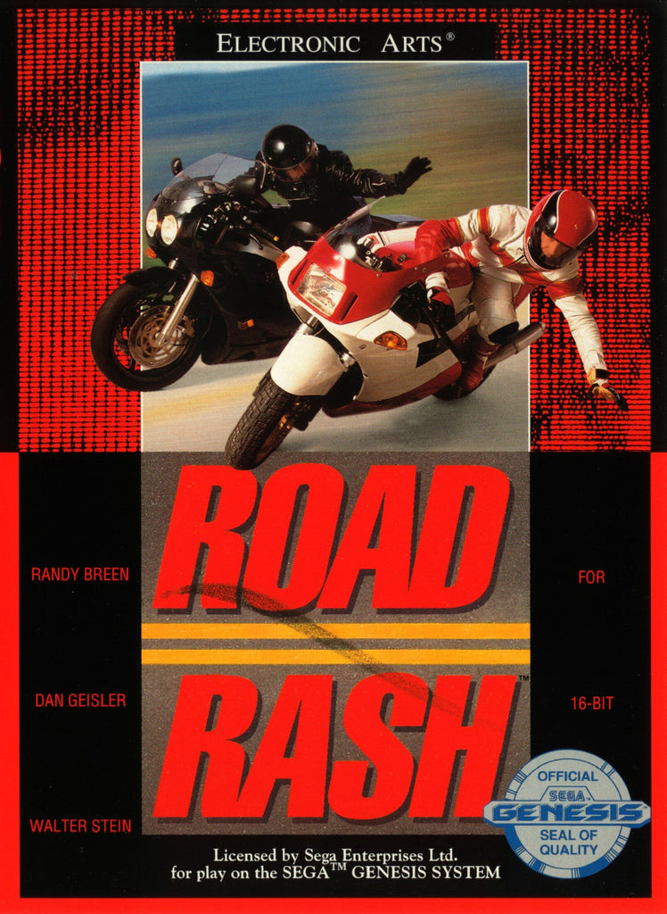 Road Rash Box Art