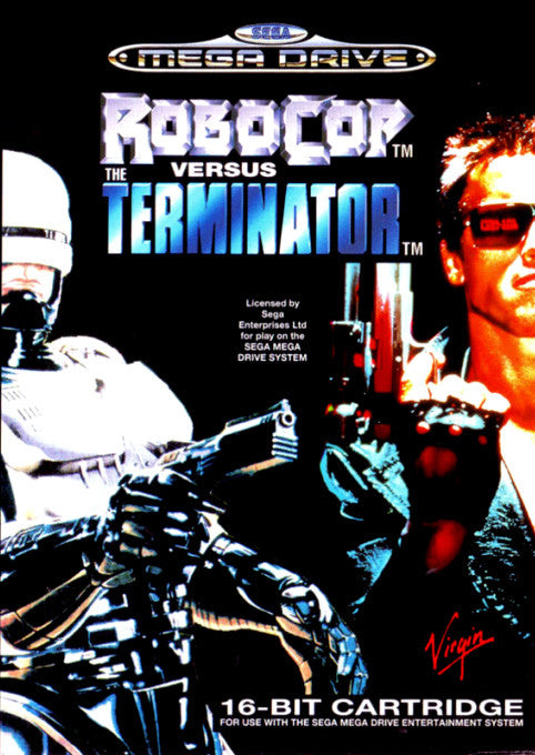 Robocop vs. the Terminator Box Art