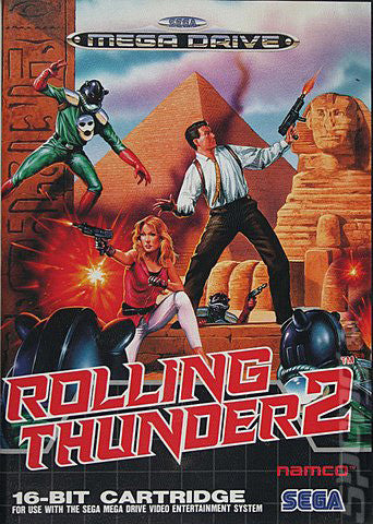 Rolling Thunder 2 Box Art