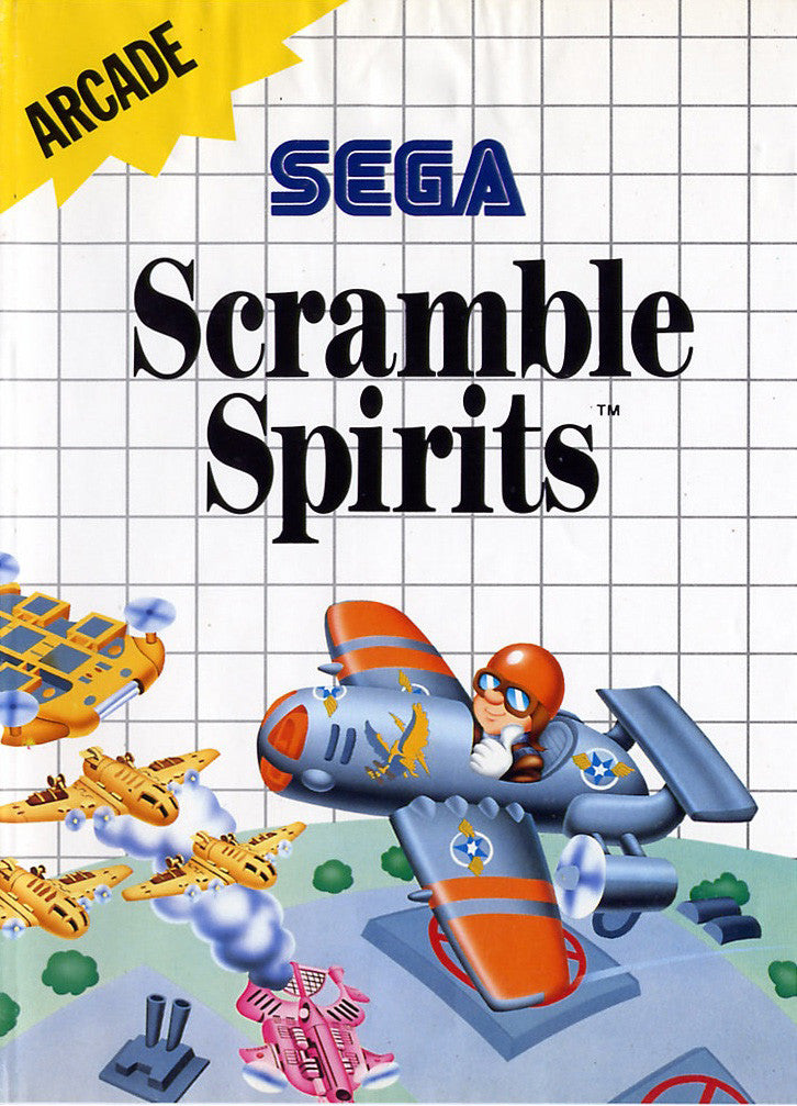 Scramble Spirits Box Art